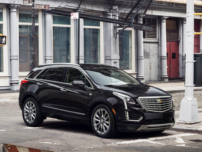 Cadillac revealed its brand new 2017 XT5 crossover