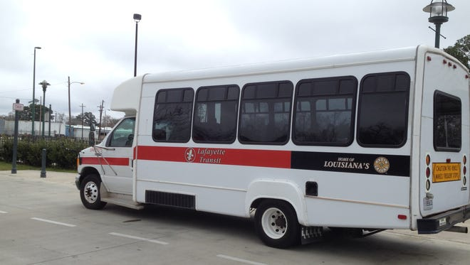 Changes start Monday for Lafayette's night bus service.