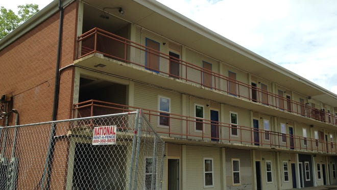 An investor from Sacramento, California, has bought this former dormitory at 610 E. College St.