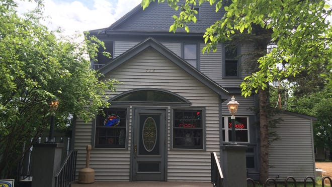 The Hiawatha Bar is known for its Friday fish fries and local history.
