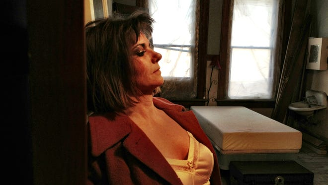 In a former crib at 308 1st Ave. S., Amber Colton Gardner plays Betty Rogers, who was a prostitute in Great Falls from the 1940s to 1960s, if not later. Some say she walked the streets into her 70s.