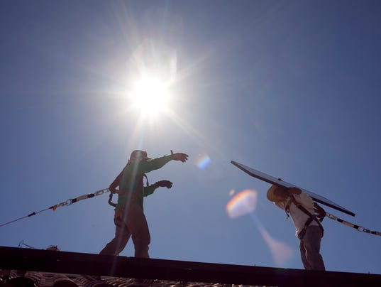 SolarCity rooftop installers