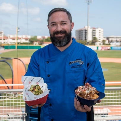 New Blue Wahoos Executive Chef Jason Perry, previously