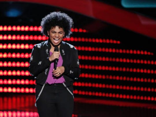 """""""I feel really, really grateful and blessed,"""" says Paterson phenom Wé McDonald (pictured performing on """"The Voice"""" in 2016)."""