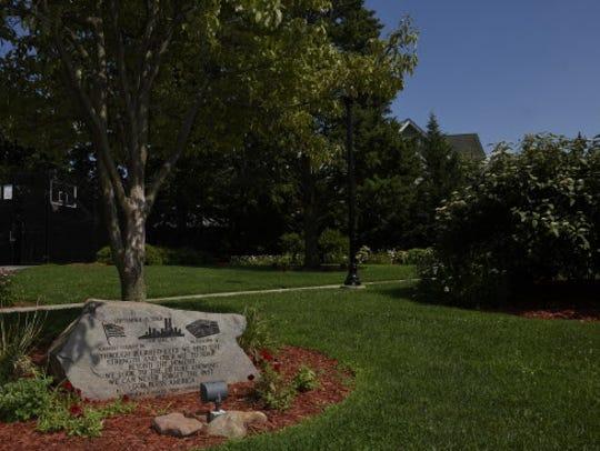 The 9/11 memorial Veterans Park in Wood-Ridge