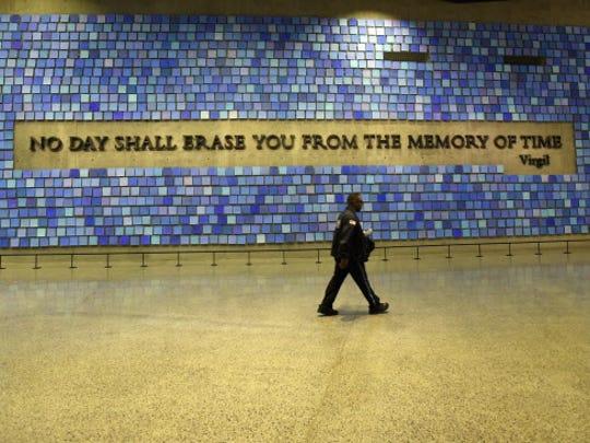 9/11 Memorial Museum, New York: A museum security guard