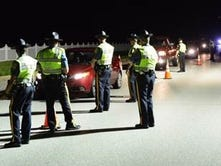 DUI checkpoints scheduled for Saturday statewide