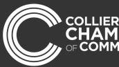 The Collierville chamber's logo.