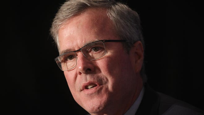Getty ImagesJeb Bush WASHINGTON, DC - APRIL 30: Republican U.S. presidential hopeful and former Florida governor Jeb Bush participates in a discussion with the Editor of the National Review, Rich Lowry, during the National Review Institute 2015 Ideas Summit April 30, 2015 in Washington, DC. The three-day summit this year was focused on ''Why the future is conservative.'' (Photo by Alex Wong/Getty Images) ORG XMIT: 552092437 ORIG FILE ID: 471698740