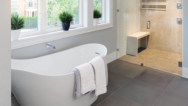 Bathrooms top the list of most common remodeling projects for the fifth time since 2010.