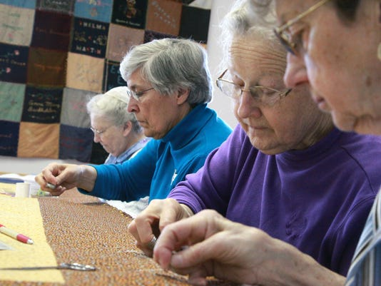 Sewing among friends