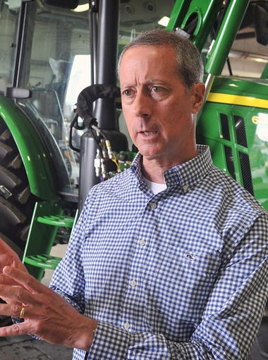 U.S. Rep. Mac Thornberry met with area farmers and ranchers Tuesday to discuss issues and legislation that affect them.