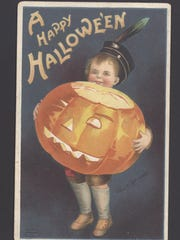 Halloween past is one of the exhibits at the Customs