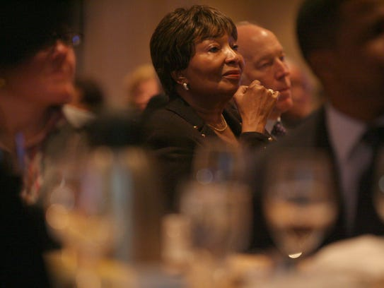 In this 2009 photo, Rep. Eddie Bernice Johnson, D-Texas,