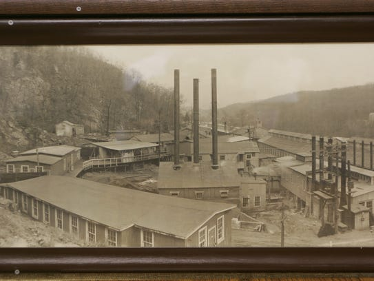 The former DuPont plant in Pompton Lakes manufactured
