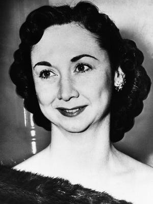 Columnist Dorothy Kilgallen.