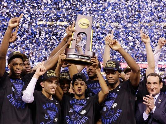 NCAA Duke Wisconsin Final Four Basketball (2)