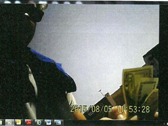 This is a photo of one of the undercover buys conducted by a government informant with an employee of U.S. Beef.