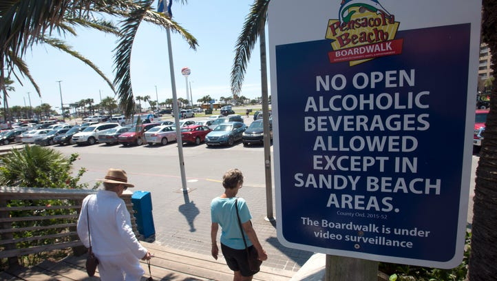 Pensacola Beach boardwalk alcohol ban extension fails, ordinance will expire after May 31
