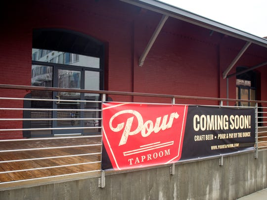 Pour Taproom, located at 207 W. Jackson Ave., will allow customers to pour their own beer. The Knoxville City Council will be voting on a beer ordinance that would prohibit self-serve bars from opening.