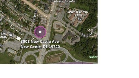 A Shell Station near New Castle was robbed on Sunday.