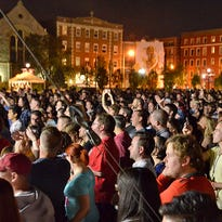 The crowd at Washington Park during last year's MidPoint Music Festival.