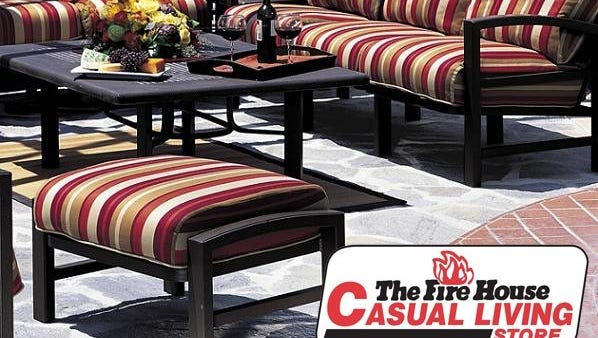 The Fire House Casual Living Store is located at 601 Congaree Road in Greenville.