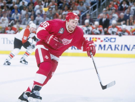 Former Red Wings defenseman Vladimir Konstantinov had