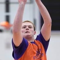 UE's Kuhlman back at full strength after breaking foot in spring