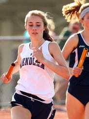 Mendham's Lucy Jeffs and Randolph's Meredith Finley