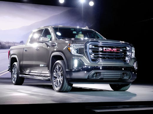 GMC Sierra pickup truck redesigned with tricked-out ...