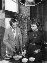 John and Barbara Ward in a 1983 photo from the News