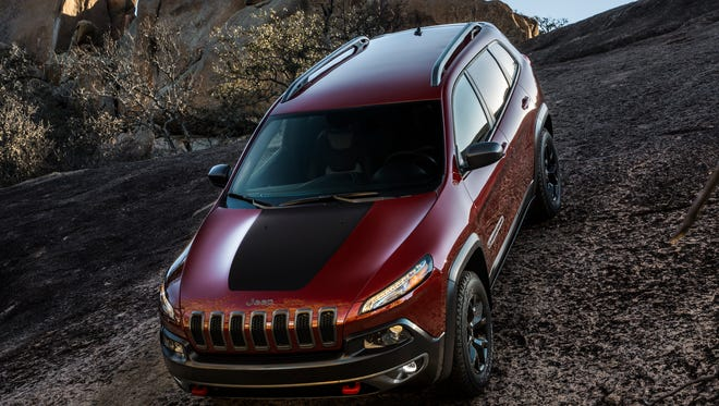Chrysler Group's Jeep should experience fast global growth under Fiat ownership, CEO Sergio Marchionne says. Jeep Cherokee Trailhawk is shown.