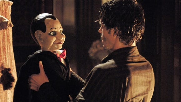 Jamie (Ryan Kwanten) discovers the ventriloquist dummy