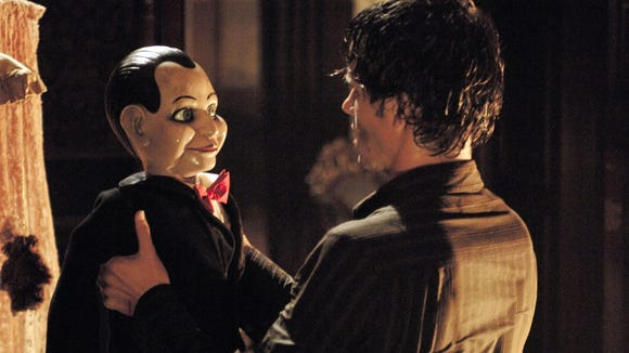 Jamie (Ryan Kwanten) discovers the ventriloquist dummy Billy is no ordinary doll in 'Dead Silence.'