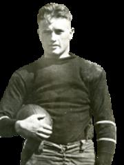 Cornell football legend Charley Barrett.