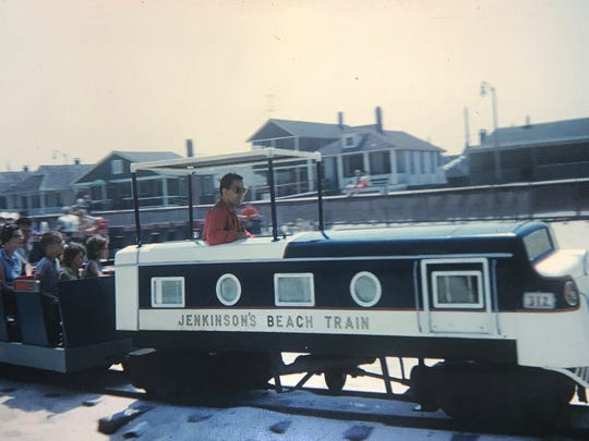 In an undated photo, Loren Donley drives the Jenkinson's Beach Train in Point Pleasant Beach. Donley, 83, taught music at Point Pleasant Borough High School for nearly 40 years. He died on Aug. 6 at the age of 83.