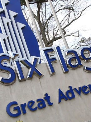 2016: The entrance to Six Flags Great Adventure on Route 537.