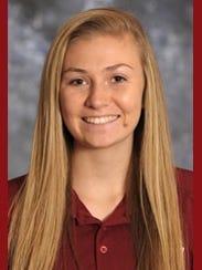 New Mexico State freshman Brooke Salas.