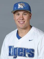 Jonathan Bowlan, University of Memphis pitcher, selected