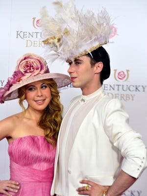 NBC announcers Tara Lipinski and Johnny Weir are back for this year's Kentucky Derby coverage.