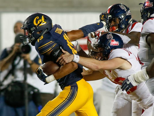 NCAA Football: Mississippi at California