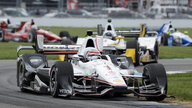 Will Power won the Angie's List Grand Prix of Indianapolis at the Indianapolis Motor Speedway last year.