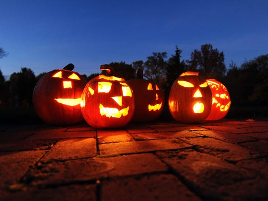 Pumpkin Glow returns to Kingwood this weekend. Pictured are pumpkins from the event in 2012.