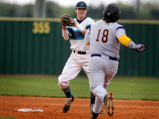 Siegel's Drew Benefield is one of two Siegel baseball