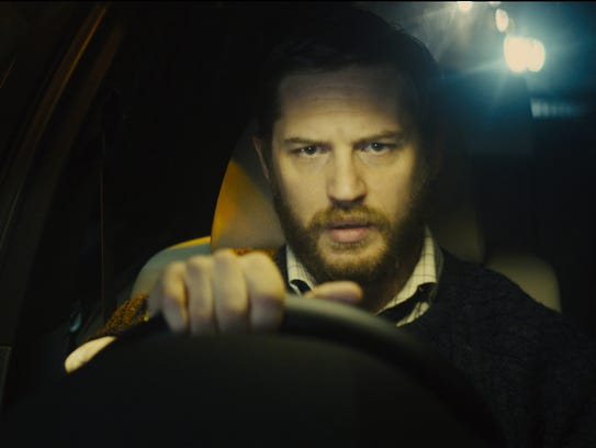 Tom Hardy in a scene from the motion picture 'Locke.'