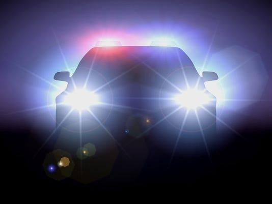 police car smaller