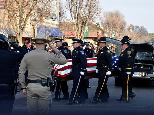 Police Officer Killed-California,