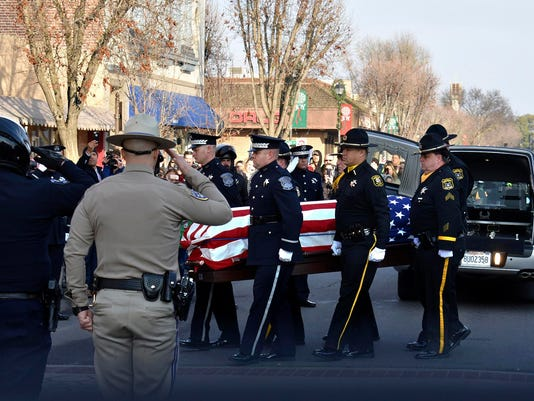 Police Officer Killed-California,