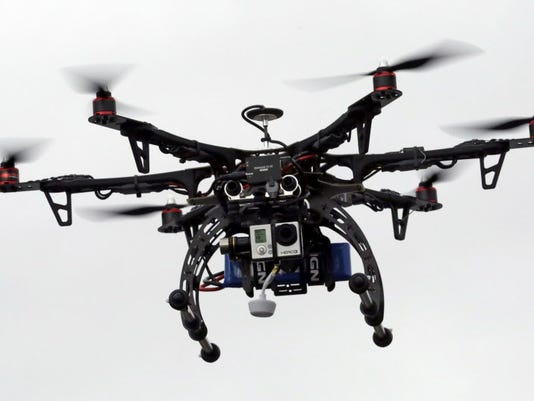 AP DRONES NEAR COLLISIONS A FILE USA UT